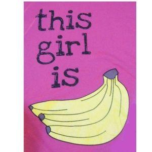 This Girl Is Bananas Joe Boxer Graphic Tee L